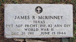 James R McKinney