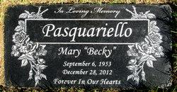 Mary Becky <i>Boggs</i> Pasquariello