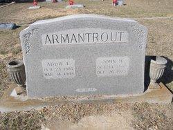 Addie L <i>Gierhart</i> Armantrout