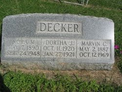 Marvin Charles Red Decker