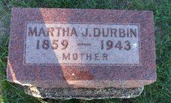 Martha Jane <i>Gilbert</i> Durbin