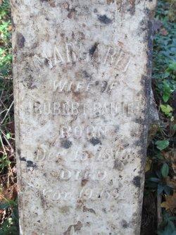 Margaret <i>Lane</i> Bailie