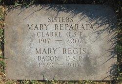Sr Mary Regis Bacon