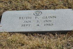 Ruth P Gunn