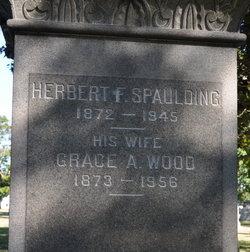 Grace A <i>Wood</i> Spaulding