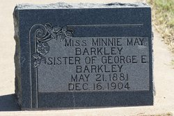 Minnie May Barkley