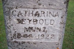 Catharina <i>Seybold</i> Munz