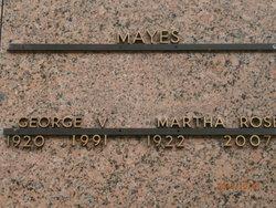 Martha Rose <i>Williams</i> Mayes