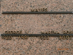 George Vernon Mayes