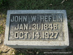 Pvt John Washington Heflin