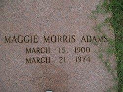 Maggie <i>Morris</i> Adams