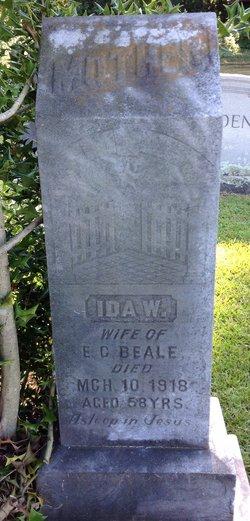 Ida Wilson <i>Ouzts Harris</i> Beale