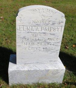 Elna A <i>Priest</i> Ayer