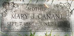 Mary Jaila <i>Ratcliff</i> Canant