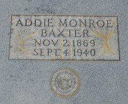 Addie <i>Monroe</i> Baxter