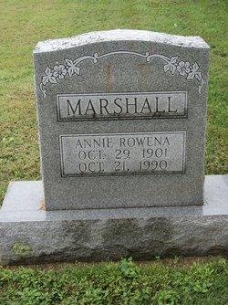 Rowena Ann Annie Marshall