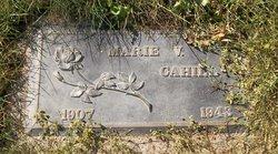 Marie Violet <i>Munz</i> Cahill