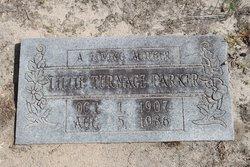 Lillie Blanche <i>Turnage</i> Parker