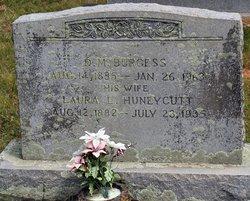 Laura L <i>Huneycutt</i> Burgess