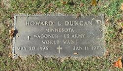 Howard L Duncan