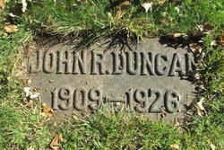 John R Duncan