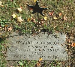 Edward A Duncan