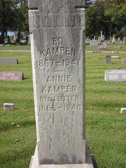 Annie <i>Lutter</i> Kampen