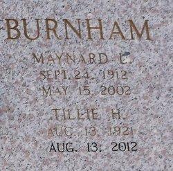 Tillie <i>Hines</i> Burnham