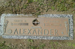 Grace Louise <i>Hooks</i> Alexander