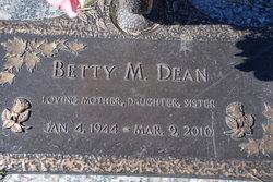 Betty L <i>McVannel</i> Dean