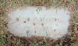Otto Ernest Brandt