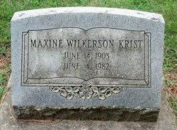 Lorna Maxine <i>Lyon</i> Wilkerson Krist