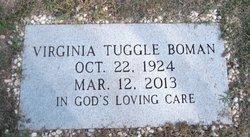 Virginia Ginny <i>Tuggle</i> Boman