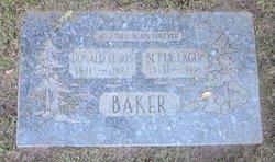 Betty M. <i>Lager</i> Baker