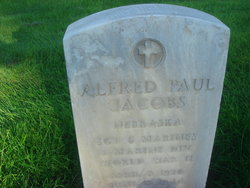 Sgt Alfred Paul Jacobs
