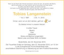 Tobias Langenstein