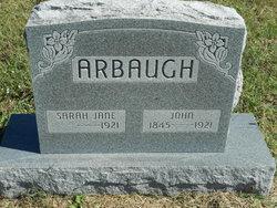 Sarah Jane <i>Cook</i> Arbaugh