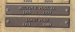 Melvin F Post, Jr