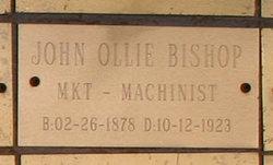 John Ollie Bishop