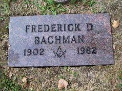 Frederick D Bachman