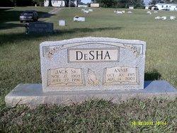Mrs Annie DeSha