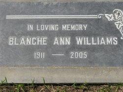 Blanche Ann Williams