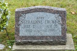 Geraldine Jerry Crumb