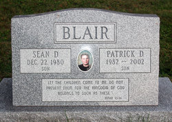 Patrick D Blair