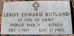 Leroy Edward Rutland