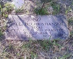 Paul H Christiansen