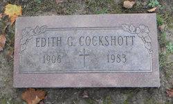 Edith G Cockshott