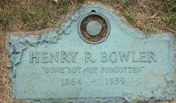 Henry R Bowler