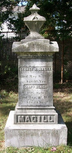 Mary <i>Beach</i> Magill
