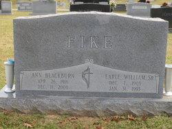 Rev Earle William Fike, Sr
